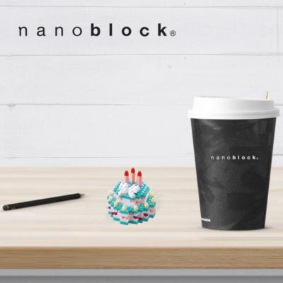 NBC-219 Nanoblock Torta di compleanno