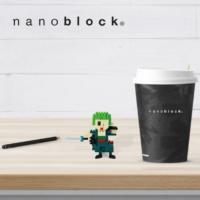NBCC-046 Nanoblock Roronoa Zoro