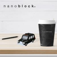 NBH-141 Nanoblock Taxi londinese