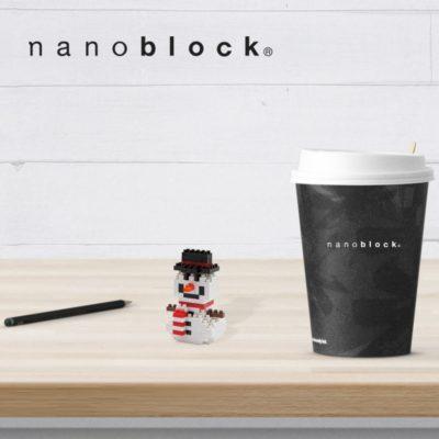 NBC-027 Nanoblock Pupazzo di neve