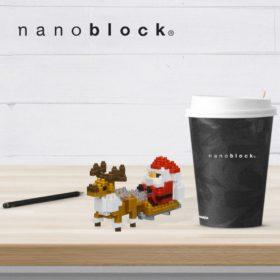 NBC-234 Nanoblock Babbo Natale slitta