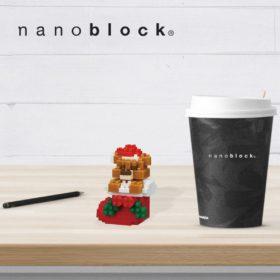 NBC-235 Nanoblock Orsacchiotto nella calza natalizia