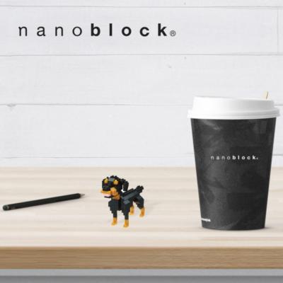 NBC-263 Nanoblock Rottweiler
