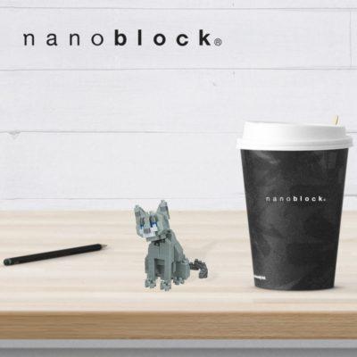NBC-266 Nanoblock Gatto Blu di Russia