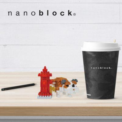 NBC-269 Nanoblock Bulldog a passeggio