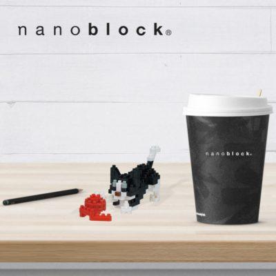 NBC-271 Nanoblock Gatto che gioca
