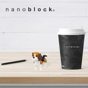 NBC-253 Nanoblock Beagle
