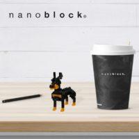 NBC-255 Nanoblock Doberman