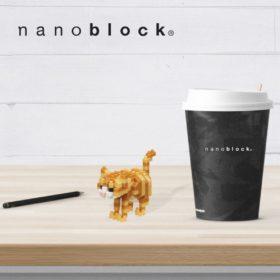 NBC-282 Nanoblock Gatto Soriano