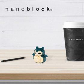 NBPM-012 Nanoblock Pokemon Snorlax